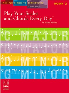 Helen Marlais: Play Your Scales And Chords Every Day - Book 2 Books | Piano