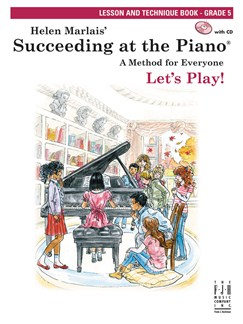 Helen Marlais: Succeeding At The Piano - Lesson And Technique Book (Grade 5) Books | Piano