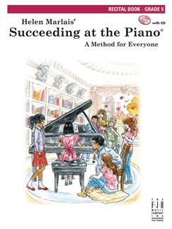 Helen Marlais:  Succeeding At The Piano - Recital Book: Grade 5 (Book/CD) Books and CDs | Piano