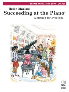 Helen Marlais: Succeeding At The Piano - Theory And Activity Book: Grade 5 Books | Piano