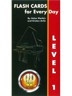 Helen Marlais/Kristen Avila: Flash Cards For Every Day - Level 1  | Piano