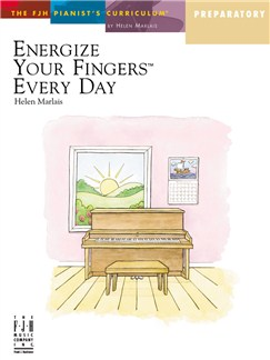 Helen Marlais: Energize Your Fingers Every Day - Preparatory Books | Piano