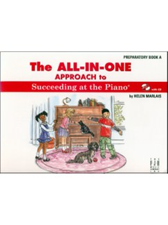 Helen Marlais: The All-In-One Approach To Succeeding At The Piano - Preparatory Book A Books and CDs | Piano