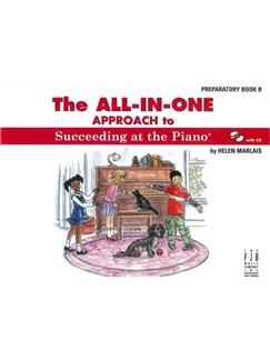 Helen Marlais: The All-In-One Approach To Succeeding At The Piano® - Preparatory Book B (With CD) Books and CDs | Piano
