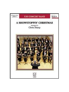 A Showstoppin' Christmas Books | Big Band & Concert Band