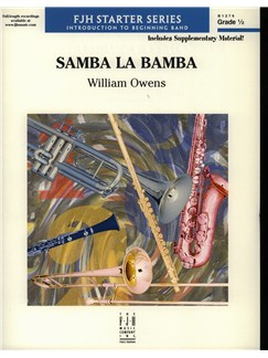 William Owens: Samba La Bamba Books | Big Band & Concert Band
