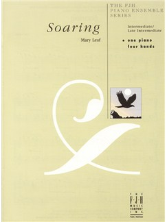 Mary Leaf: Soaring - Piano Duet Books | Piano Duet
