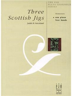 Judith R. Strickland: Three Scottish Jigs Books | Piano Duet