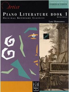 The Developing Artist: Piano Literature Book 1 Books | Piano