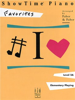 ShowTime Piano - Favorites Books | Piano