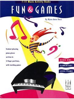 Fun And Games - Book 1 Books | Piano