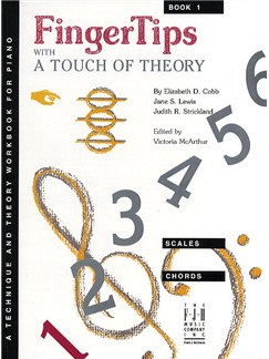 FingerTips With A Touch of Theory Book 1 Books | Piano