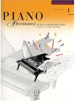 Piano Adventures®: Lesson Book - Level 4 Books   Piano