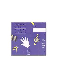 Inabinet/Peterson with Faber & Faber: Student Music Writing Book Books |