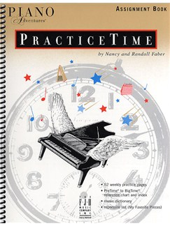 Piano Adventures®: Practice Time Assignment Book Books | Piano