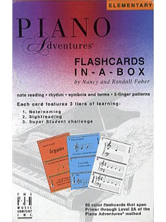 Piano Adventures®: Flashcards In-A-Box  | Piano