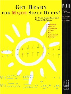 Get Ready For Major Scale Duets! Books | Piano Duet