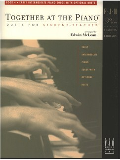Edwin McLean: Together at the Piano, Book 4 Books | Piano
