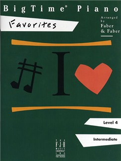 BigTime Piano: Favorites Books | Piano