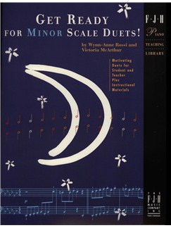 Get Ready For Minor Scale Duets! Books | Piano Duet