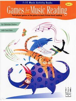 Games for Music Reading - Book 1 Books | Piano
