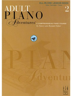 Adult Piano Adventures®: All-In-One Lesson Book 2 Books | Piano