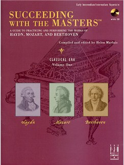 Succeeding With The Masters: Classical Era - Volume One Books and CDs | Piano