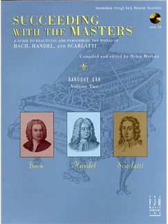Succeeding With The Masters: Baroque Era - Volume Two Books and CDs | Piano