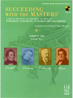 Succeeding With The Masters: Romantic Era - Volume 2 Books and CDs | Piano