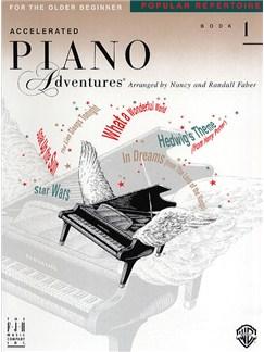 Accelerated Piano Adventures®: Popular Repertoire Book 1 Books | Piano