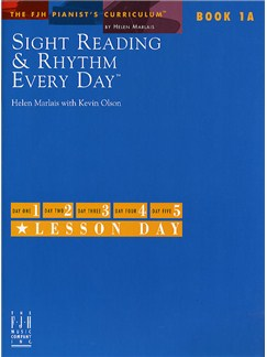 Sight Reading And Rhythm Every Day - Book 1A Books | Piano