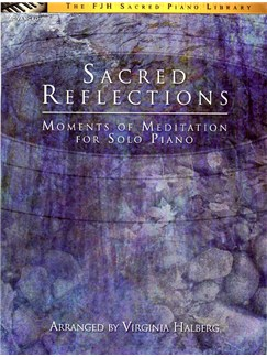 Virginia Halberg: Sacred Reflections Books | Piano