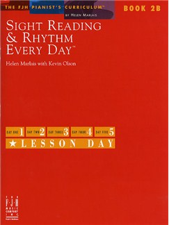 Sight Reading And Rhythm Every Day - Book 2B Books | Piano