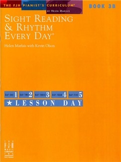 Sight Reading And Rhythm Every Day - Book 3B Books | Piano