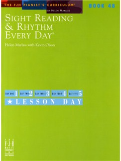 Sight Reading And Rhythm Every Day - Book 4B Books | Piano