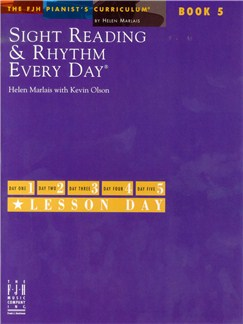 Helen Marlais: Sight Reading And Rhythm Every Day - Book 5 Books and CDs | Piano