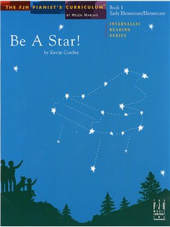 Kevin Costley: Be A Star! - Book 1 Books | Piano