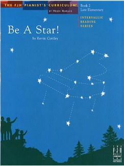 Kevin Costley: Be A Star! - Book 2 Books | Piano