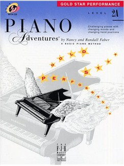 Piano Adventures®: Gold Star Performance - Level 2A Books and CDs | Piano
