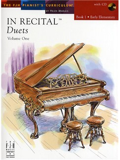 In Recital - Duets: Volume One - Book 1 Books and CDs | Piano Duet