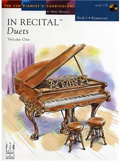 In Recital - Duets: Volume One - Book 2 Books and CDs | Piano Duet