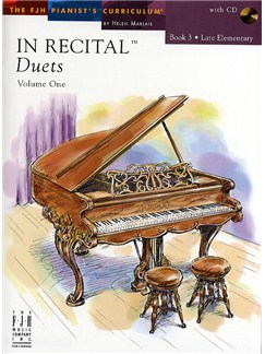 In Recital - Duets: Volume One - Book 3 Books and CDs   Piano Duet