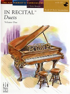 In Recital - Duets: Volume One - Book 4 Books and CDs | Piano Duet