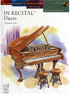 In Recital - Duets: Volume One - Book 5 Books and CDs | Piano Duet