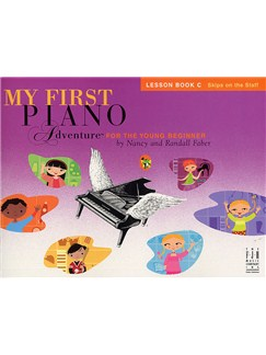 Nancy And Randall Faber: My First Piano Adventure For The Young Beginner - Lesson Book C Books | Piano