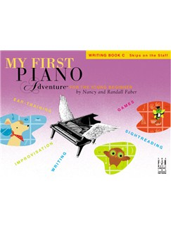 Nancy Faber/Randall Faber: My First Piano Adventure For The Young Beginner - Writing Book C Books | Piano