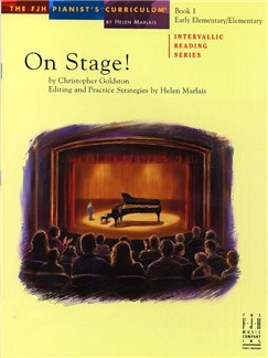Christopher Goldston: On Stage! Book 1 Books | Piano