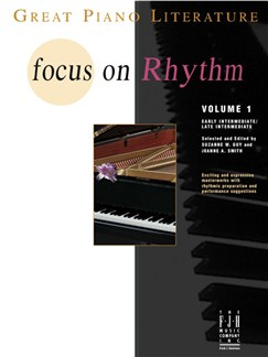 Focus On Rhythm - Volume One Books | Piano