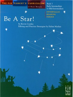 Kevin Costley: Be A Star! - Book 3 Books | Piano