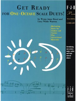 Get Ready For One Octave Scale Duets! Books | Piano Duet